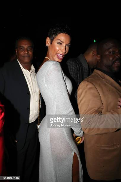 Nicole Mitchell Murphy attends the Annual PreGrammy Reception hosted by Ted Reid at STK on February 9 2017 in Los Angeles California