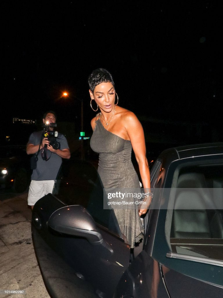 Nicole Mitchell Murphy is seen on August 10, 2018 in Los Angeles, California.