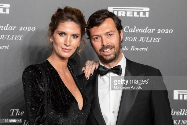 Nicole Moellhausen during the presentation of the Pirelli 2020 Calendar at the Verona Philharmonic Theater Verona December 3rd 2019
