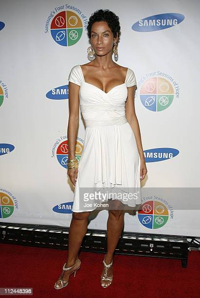 Nicole Murphy arrives at the 7th Annual Samsung Four Seasons of Hope Gala at Cipriani Wall Street on June 16 2008 in New York City