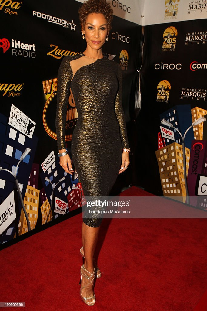 Nicole Murphy at JW Marriott Marquis on December 28, 2014 in Miami, Florida.
