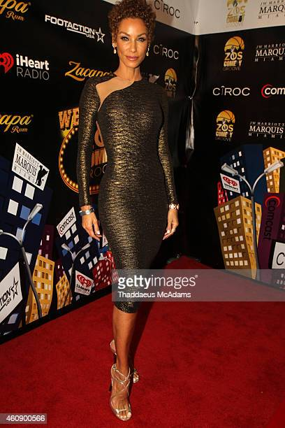 Nicole Murphy at JW Marriott Marquis on December 28 2014 in Miami Florida
