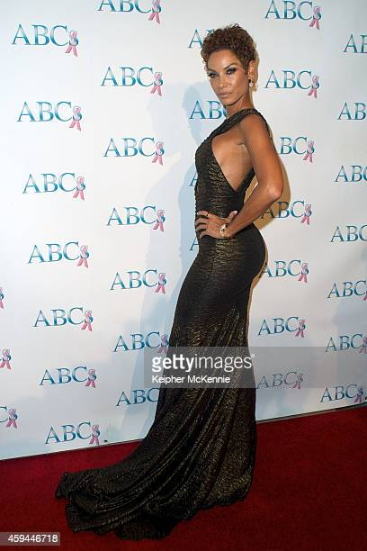 Nicole Murphy attends Associates for Breast and Prostate Cancer Studios 25th Annual Talk of the Town Black Tie Gala at The Beverly Hilton Hotel on...
