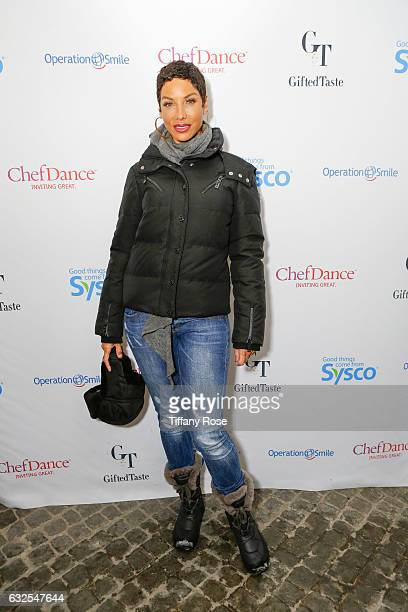 Nicole Murphy attends ChefDance and Operation Smile on January 23 2017 in Park City Utah