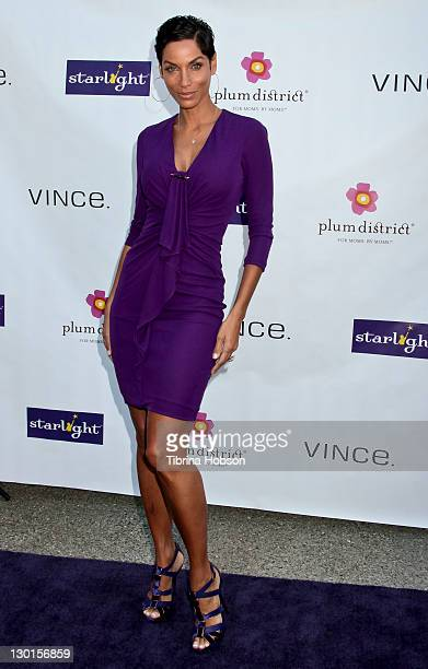 Nicole Murphy attends the 2011 Starlight Children's Foundation's Design and Wine Fundraiser at Kathy Hilton's residence on October 23, 2011 in...