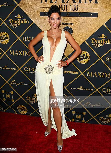 Nicole Murphy attends the Maxim Hot 100 party on July 30 2016 in Hollywood California