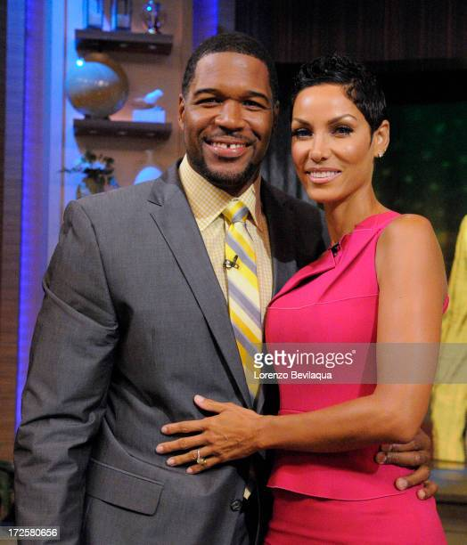 MICHAEL 7/3/13 Nicole Murphy is a guest on LIVE with Kelly and Michael distributed by DisneyWalt Disney Television via Getty Images Domestic...