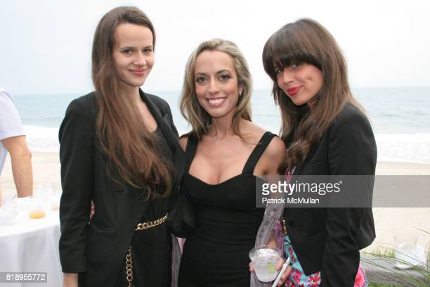 Nicole Nadeau Jaclyn Santos and Coryn Nadeau attend MIRACLE HOUSE 20th Anniversary Memorial Day Summer Kickoff Benefit honoring Amy Chanos and Jim...