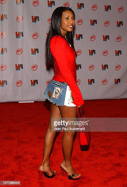 Nicole Narain during 2003 VIBE Awards Arrivals at Civic Auditorium in Santa Monica California United States