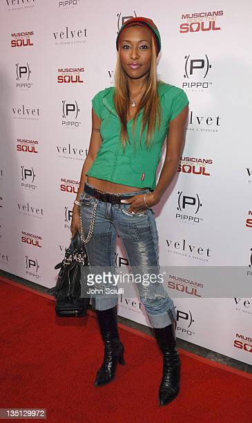 Nicole Narain during 33rd Annual American Music Awards Musicians Rock the Soul After Party at Privilage in Los Angeles California United States Photo...
