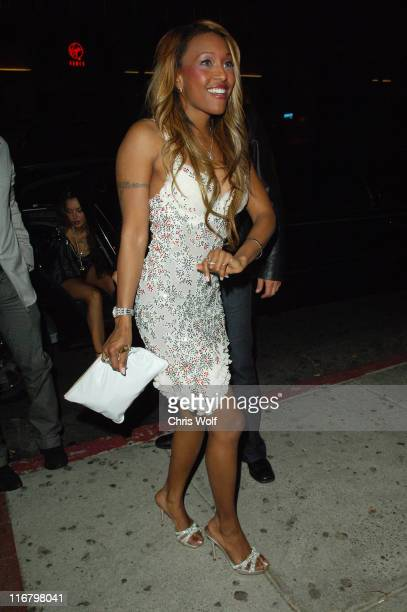 Nicole Narain during Celebrity Sightings at Hyde Club February 14 2007 at Hyde in West Hollywood California United States