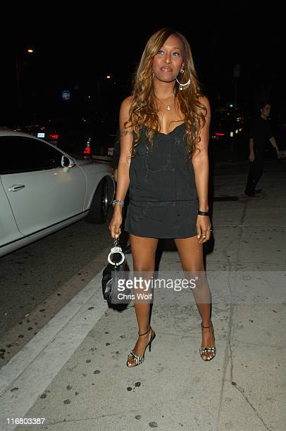 Nicole Narain during Celebrity Sightings at Koi April 27 2007 at Koi in Los Angeles California United States