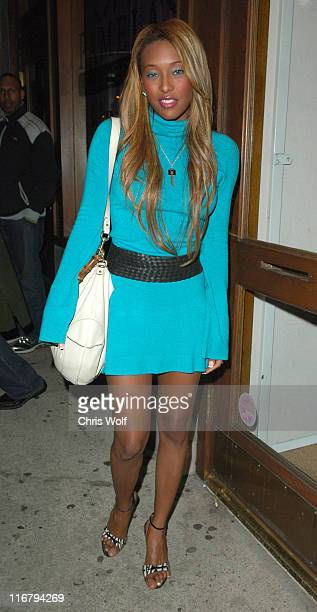 Nicole Narain during Nicole Narain Sighting at Hyde Club January 11 2007 at Hyde in West Hollywood California United States