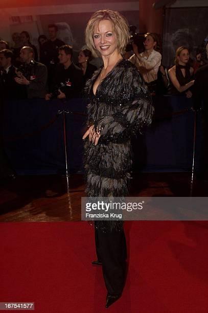 Nicole Noevers Bei Verleihung Des 53 Bambi