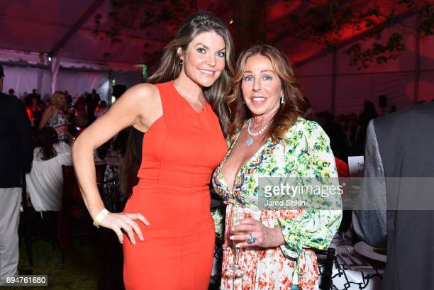 Nicole Noonan and Marcia Altman attend the 21st Annual Hamptons Heart Ball at Southampton Arts Center on June 10 2017 in Southampton New York