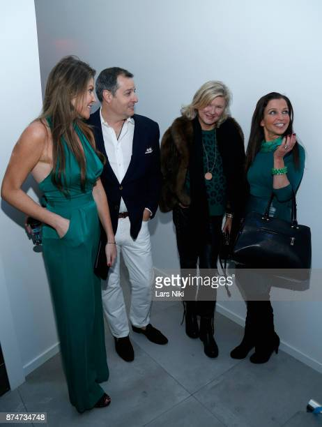 Nicole Noonan Steven Knobel Liliana Cavendish and Wendy Diamond attend the Blu Perfer Blue Brut Launch Party for The 2018 8th annual Better World...