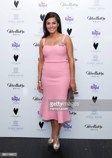 Nicole O'Neil attends the Bistro Moncur Ladies Luncheon on October 13 2017 in Sydney Australia