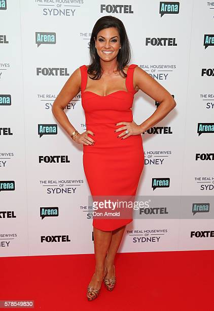 Nicole O'Neil during a media call to announce the cast of The Real Housewives of Sydney at the Park Hyatt on July 22 2016 in Sydney Australia