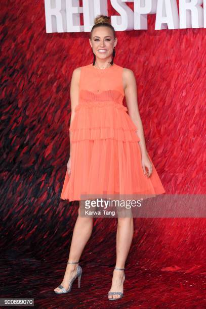 Nicole O'Neill attends the European Premiere of 'Red Sparrow' at the Vue West End on February 19 2018 in London England