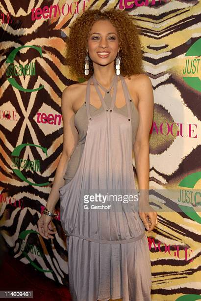 Nicole Pace during Just Cavalli and Teen Vogue Host Fashion Fete To Celebrate Summer May 3 2006 at The Manor in New York City New York United States