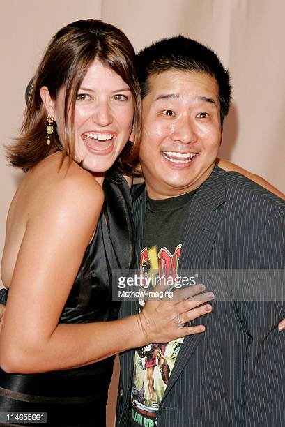 Nicole Parker and Bobby Lee during 57th Annual Los Angeles Area Emmy Awards Arrivals Reception at Leonard H Goldenson Theatre in North Hollywood...