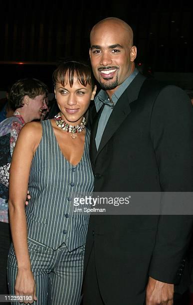 Nicole Parker and Boris Kodjoe during 'Brown Sugar' New York Premiere at The Ziegfeld Theater in New York City New York United States