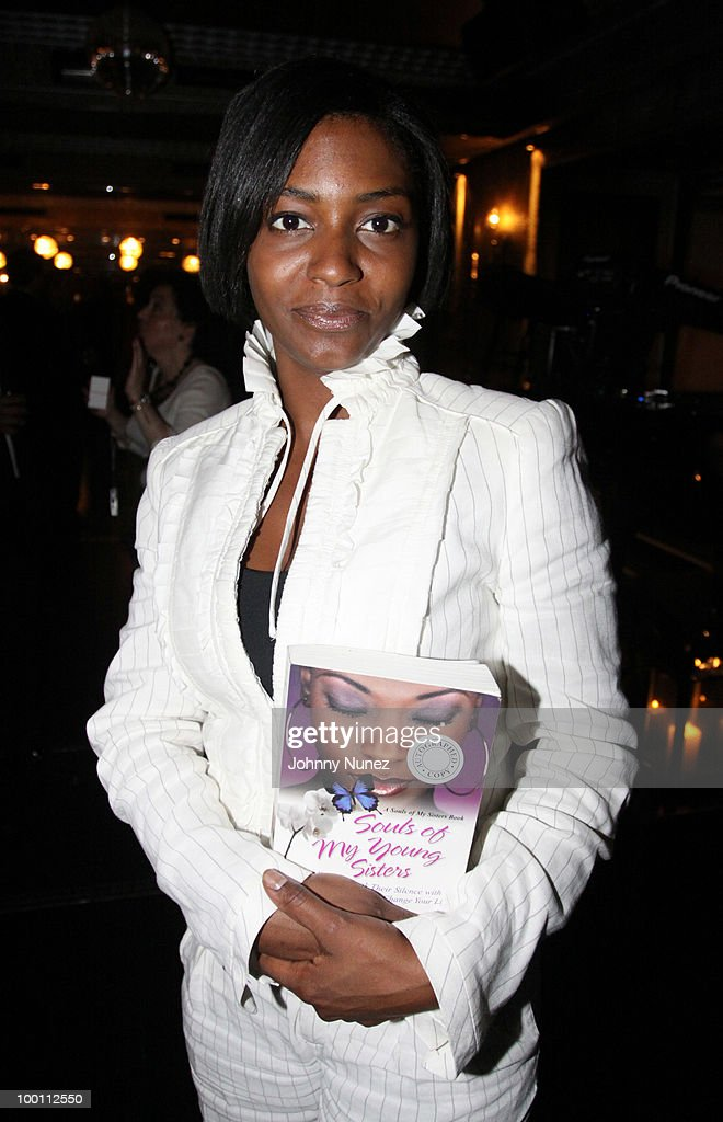 Nicole Paultre-Bell attends a press reception for 'Souls of My Young Sisters' at Covet on May 20, 2010 in New York City.