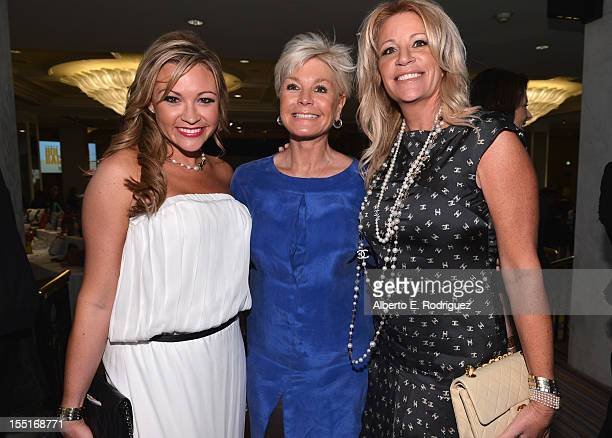 Nicole Paxson Julia Van HeesAidner and Marla Paxson arrive to the Lupus LA 10th Anniversary Hollywood Bag Ladies Luncheon at Regent Beverly Wilshire...