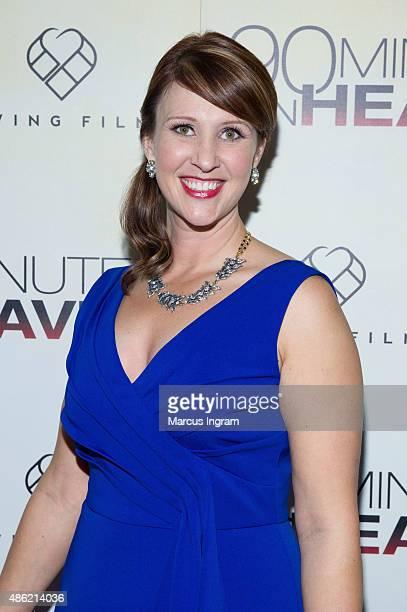 Nicole Piper Flenniken attends '90 Minutes In Heaven' Atlanta premiere at Fox Theater on September 1 2015 in Atlanta Georgia