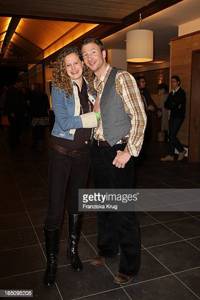 Nicole Prommer Und Heiko Ruprecht Beim 2 Tirol Cross Mountain Husky Rennen In Kühtai