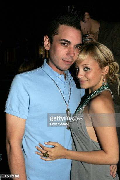 Nicole Richie and DJ A.M. During American Eagle Outfitters Rocks Los Angeles with a Back to School Tailgate Party - Inside at Hollywood Lot in...
