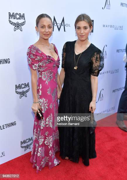 Nicole Richie and honroee Jamie Mizrahi attend The Daily Front Row's 4th Annual Fashion Los Angeles Awards at Beverly Hills Hotel on April 8 2018 in...