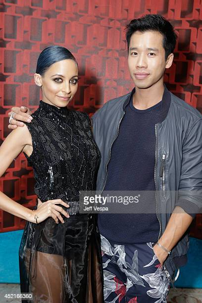 Nicole Richie and Jared Eng attend VH1's Candidly Nicole influencer event in Los Angeles on July 14 2014 in West Hollywood California