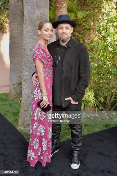 Nicole Richie and Joel Madden attend The Daily Front Row's 4th Annual Fashion Los Angeles Awards at Beverly Hills Hotel on April 8 2018 in Beverly...
