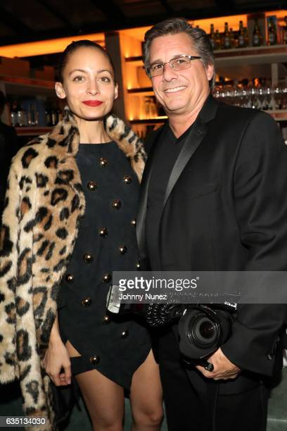 Nicole Richie and Kevin Mazur attend the Republic Records GRAMMY After Party at Catch LA on February 12 2017 in West Hollywood California