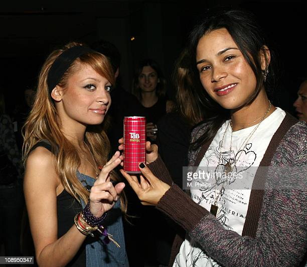 Nicole Richie and Kidada Jones during Charlotte Ronson Cocktail Party at Private Home in Hollywood Hills CA United States