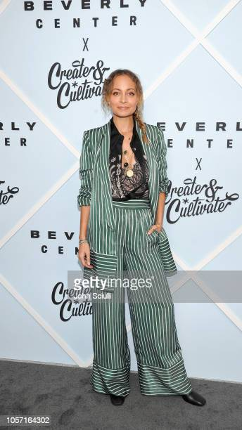 Nicole Richie arrives at Beverly Center's Grand Reveal Weekend: Everyone Welcome with Create & Cultivate at Beverly Center on November 3, 2018 in Los...