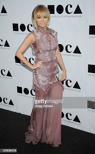 Nicole Richie arrives at MOCA Gala 2011 An Artist's Life Manifesto Directed By Marina Abramovic at MOCA Grand Avenue on November 12 2011 in Los...