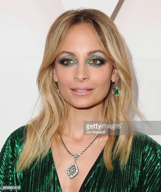 Nicole Richie arrives at #REVOLVEawards at DREAM Hollywood on November 2 2017 in Hollywood California