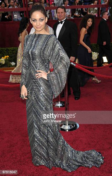 Nicole Richie arrives at the 82nd Annual Academy Awards held at Kodak Theatre on March 7 2010 in Hollywood California