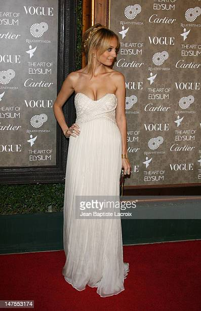 Nicole Richie arrives at the Art of Elysium 2nd Annual Heaven Gala held at Vibiana on January 10, 2009 in Los Angeles, California.