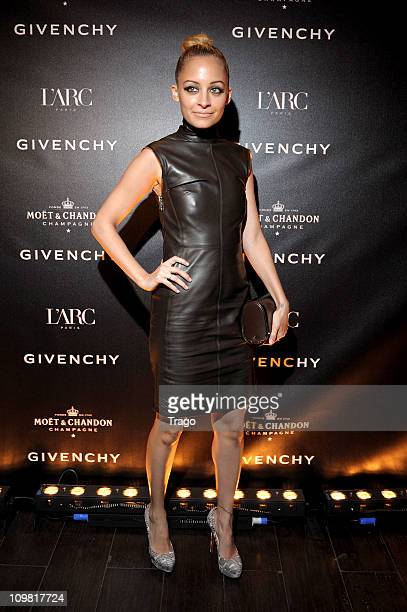 Nicole Richie arrives at the Givenchy AfterShow Party At l'Arc as part of Paris Fashion Week Autumn/Winter 2011/2012 L'Arc on March 7 2011 in Paris...