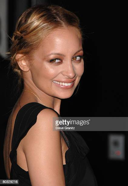 Nicole Richie arrives at the Prada Presents Trembled Blossoms LA on March 19 2008 at Prada Beverly Hills Epicenter in Beverly Hills California