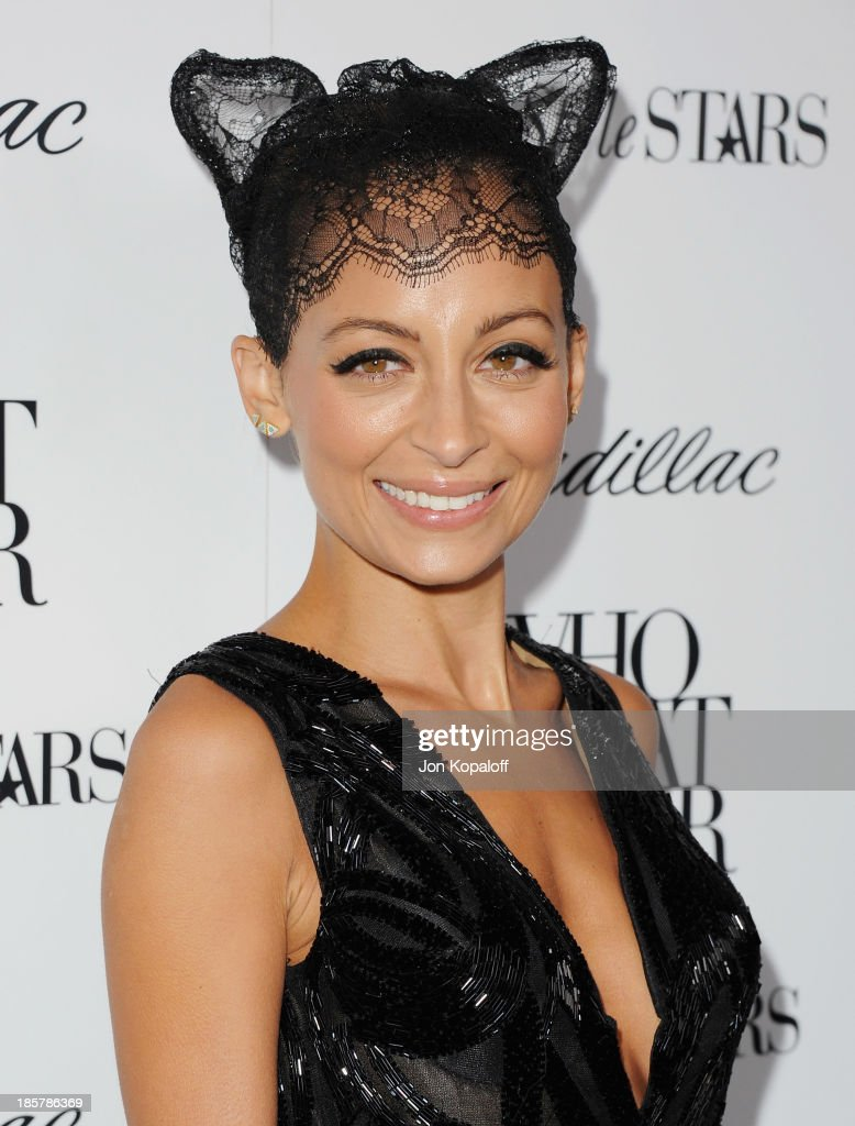 Nicole Richie arrives at Who What Wear And Cadillac's 50 Most Fashionable Women Of 2013 at The London Hotel on October 24, 2013 in West Hollywood, California.