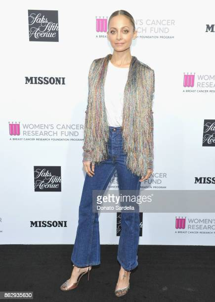 Nicole Richie at SAKS FIFTH AVENUE and WOMENS CANCER RESEARCH FUND celebration of KEY TO THE CURE with MISSONI at Mr Chow on October 18 2017 in...