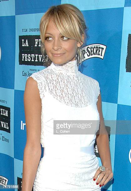 Nicole Richie at the Mann Villiage Theatre in Westwood California