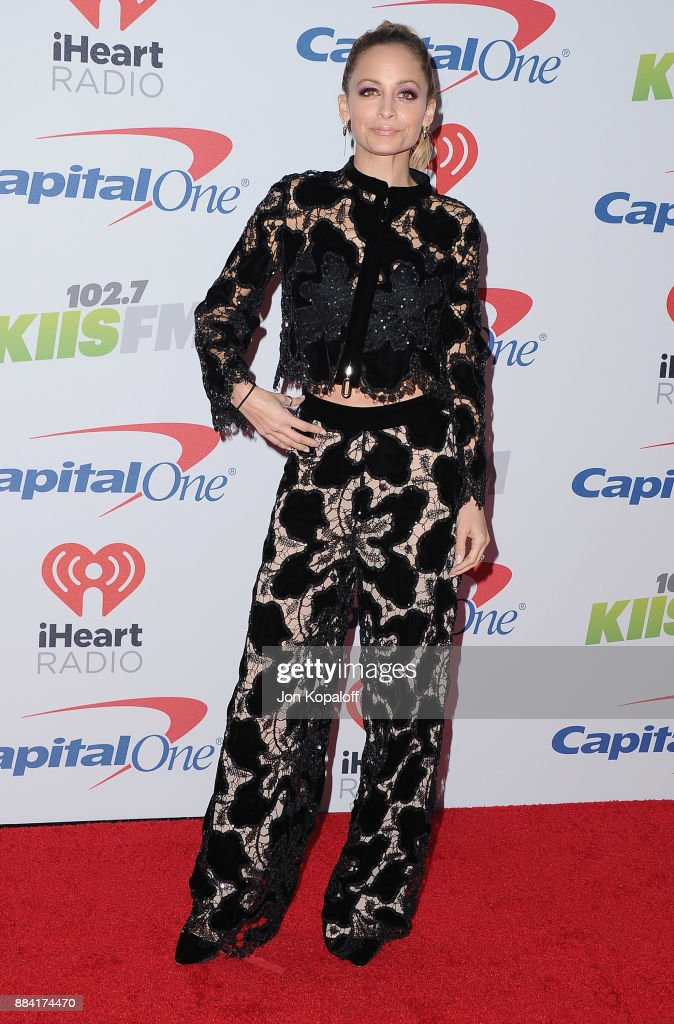 Nicole Richie attends 102.7 KIIS FM's Jingle Ball 2017 at The Forum on December 1, 2017 in Inglewood, California.