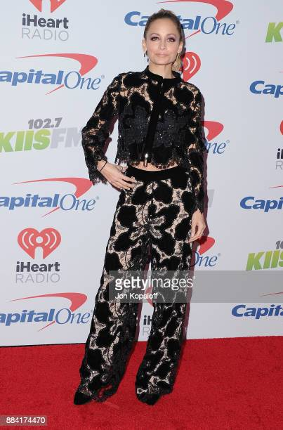 Nicole Richie attends 1027 KIIS FM's Jingle Ball 2017 at The Forum on December 1 2017 in Inglewood California