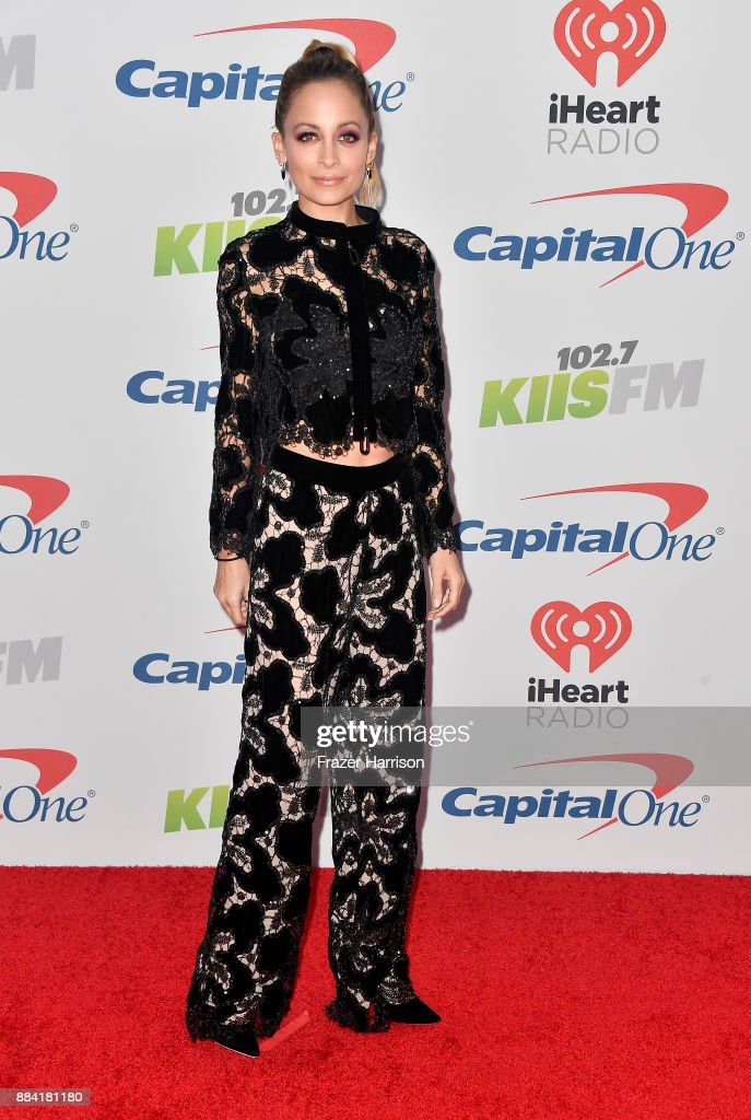 Nicole Richie attends 102.7 KIIS FM's Jingle Ball 2017 presented by Capital One at The Forum on December 1, 2017 in Inglewood, California.