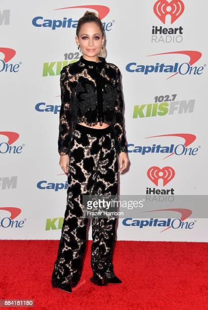 Nicole Richie attends 1027 KIIS FM's Jingle Ball 2017 presented by Capital One at The Forum on December 1 2017 in Inglewood California